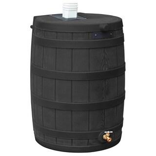 Sterling Rain Wizard 50-gallon Black Rain Barrel