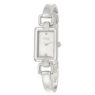 ESQ by Movado Women's 'Kali' Stainless Steel Diamond Quartz Watch