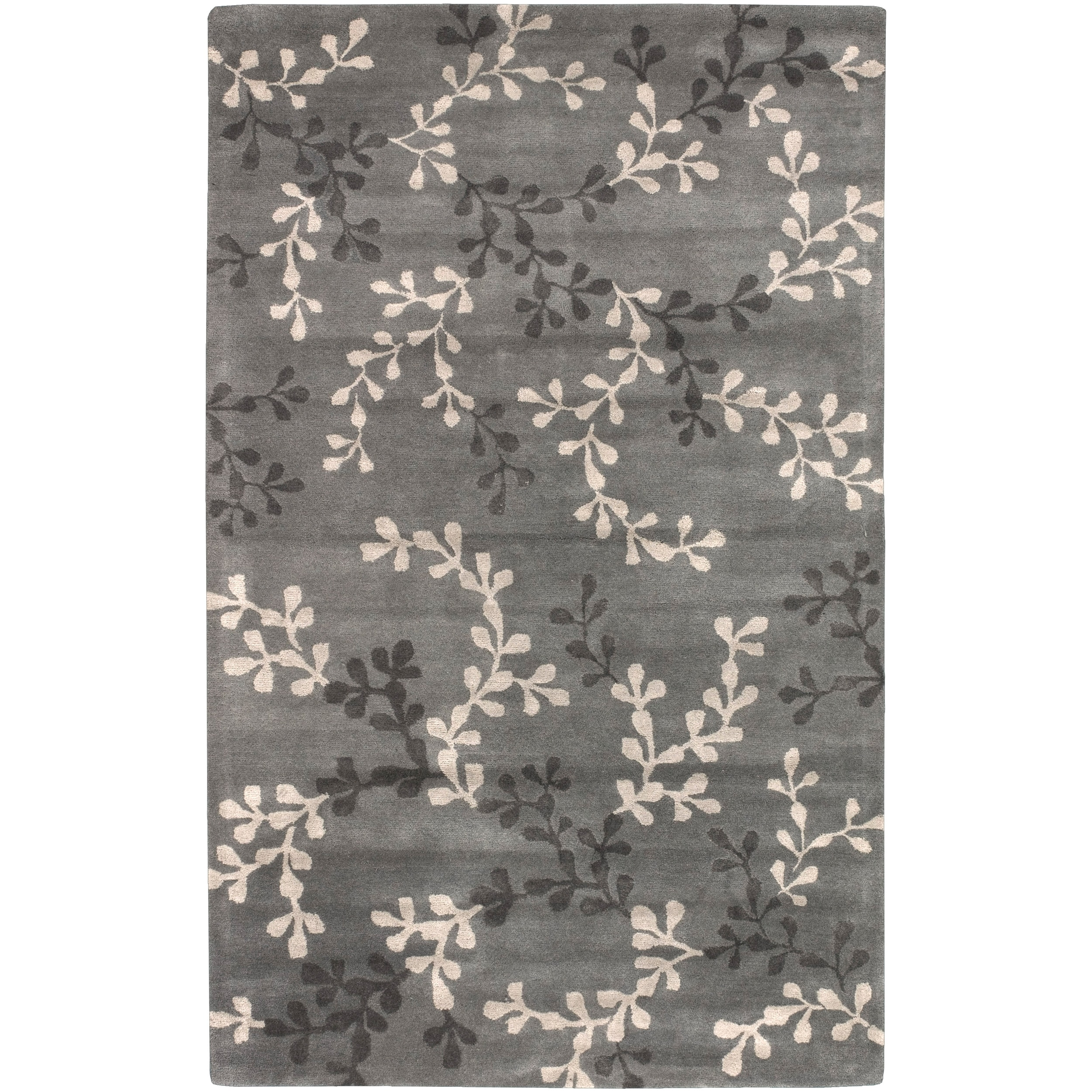 Hand-tufted Annamite New Zealand Wool Rug (9' x 13')