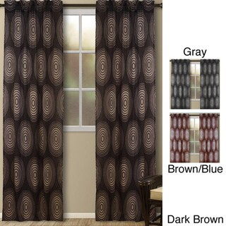 Galaxy Geometric 95-inch Curtain Panel Pair