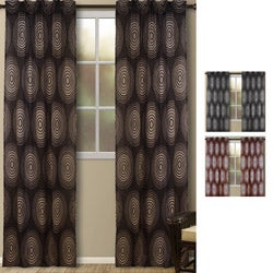 Galaxy Geometric 95-inch Curtain Panel Pair