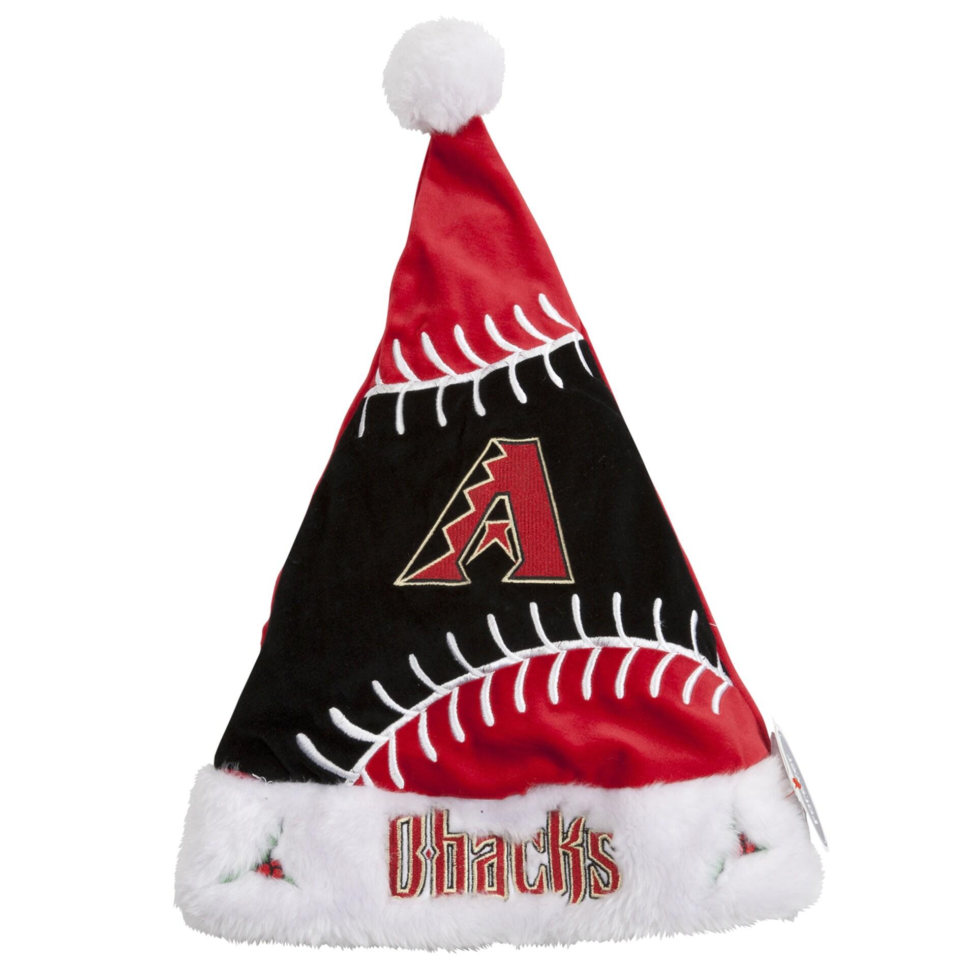 Arizona Diamondbacks Colorblock Santa Hat