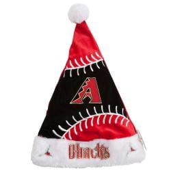 Arizona Diamondbacks Colorblock Santa Hat