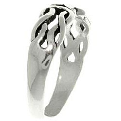 CGC Celtic Star Sterling Silver Adjustable Toe Ring