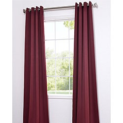 Burgundy Thermal Blackout 84-inch Curtain Panel Pair