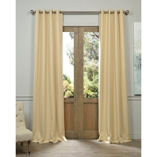 EFF Biscotti Thermal Blackout Curtain Panel Pair