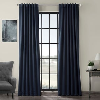 EFF Eclipse Blue Thermal Blackout Curtain Panel Pair