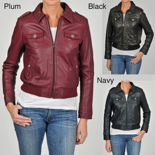 Knoles & Carter Women's Relaxed Bomber Jacket