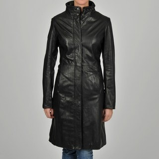 Knoles & Carter Women's 7/8-length Clean Leather Jacket