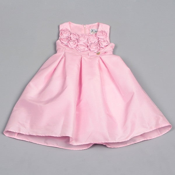 Dorissa Toddler Girl's Florets Dress