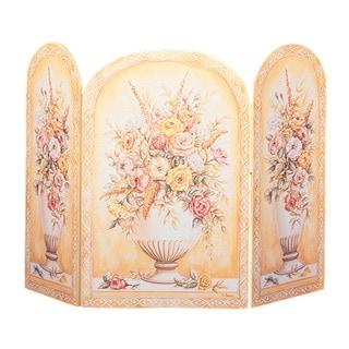 Vases Yellow/ White Fire Screen