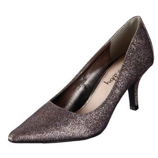 Sam & Libby Women's Dovecot Glitz Glam Kitten Heel Pumps