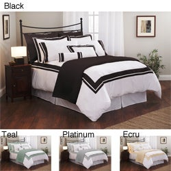 Roxbury Park Inlay King-size 3-piece Duvet Cover Set