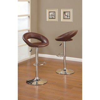 Peter Dark Red Barstool