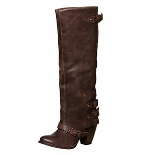 MIA Women's 'Eelia' Leather Boots FINAL SALE
