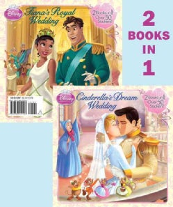 Cinderella's Dream Wedding & Tiana's Royal Wedding (Paperback)