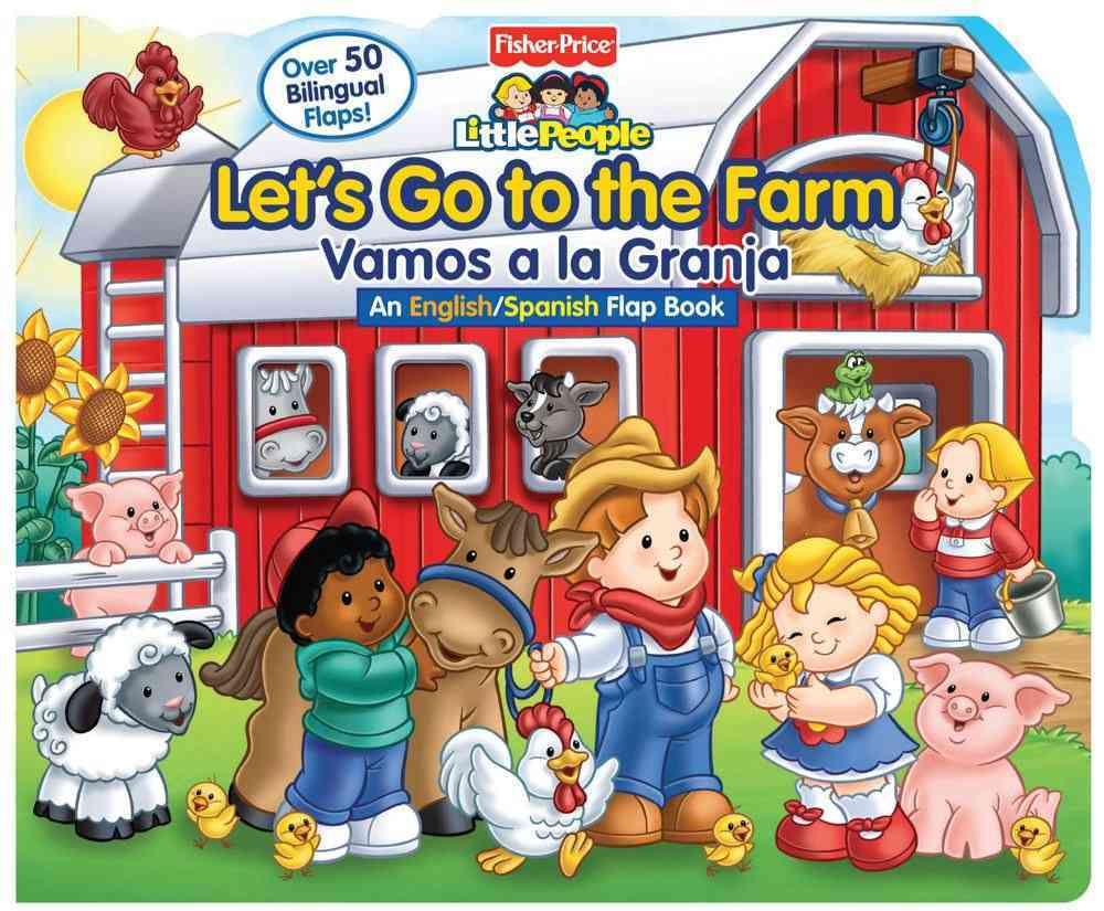 Lets Go to the Farm/Vamos a La Granja (Board book)