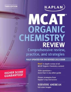 Kaplan MCAT Organic Chemistry Review (Paperback)