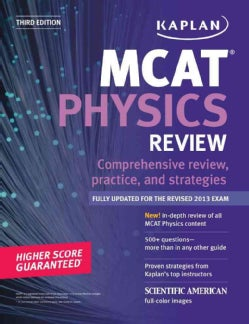 Kaplan MCAT Physics Review (Paperback)