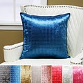 Checker Rhinestone Stud Velvet Pillow 19 x 19 (Set of 2)