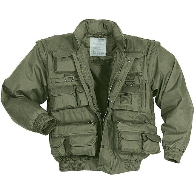 Mil-Spec Plus Adventure Gear Olive-drab Casual-duty Gore-Tex Jacket