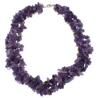 Pearlz Ocean Amethyst Chip Necklace
