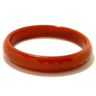 Pearlz Ocean 2.5-inch Red Agate Bangle