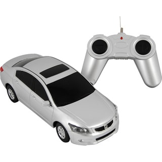 Premium Silver Honda Accord Remote Control Car