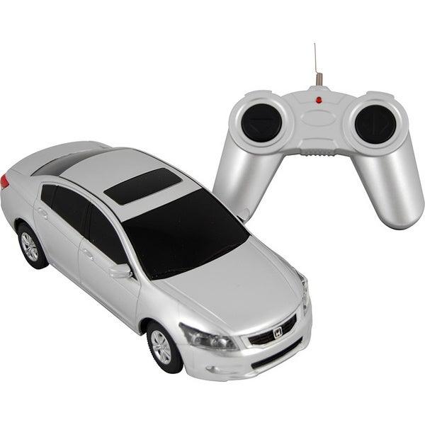Premium Silver Honda Accord Remote Control Car