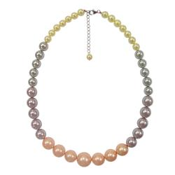 Pearlz Ocean Sterling Silver Shell Pearl 17.5-inch Journey Necklace