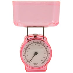 KitchenWorthy Pink Kitchen Scale