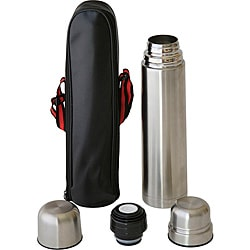 Worthy 1-liter Stainless Steel Vacuum Flask