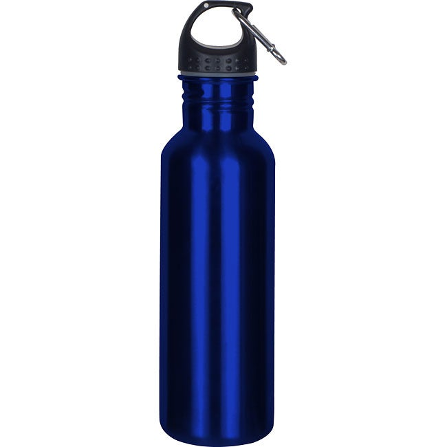 Worthy Wide-mouth 18/8 Blue Stainless Steel Sports Bottle