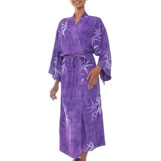Rayon 'Breezy Bamboo' Robe (Indonesia)