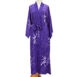 Rayon 'Breezy Bamboo' Robe (Indonesia)