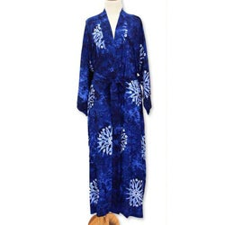 Rayon 'Midnight Starlight' Robe (Indonesia)
