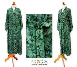 Rayon 'Green Destiny' Robe (Indonesia)