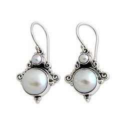 Sterling Silver 'Exotic Grey' Pearl Earrings (3.5-9.5 mm) (Indonesia)