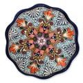 Handcrafted Ceramic 'Wilderness' Talavera Serving Plate (Mexico)