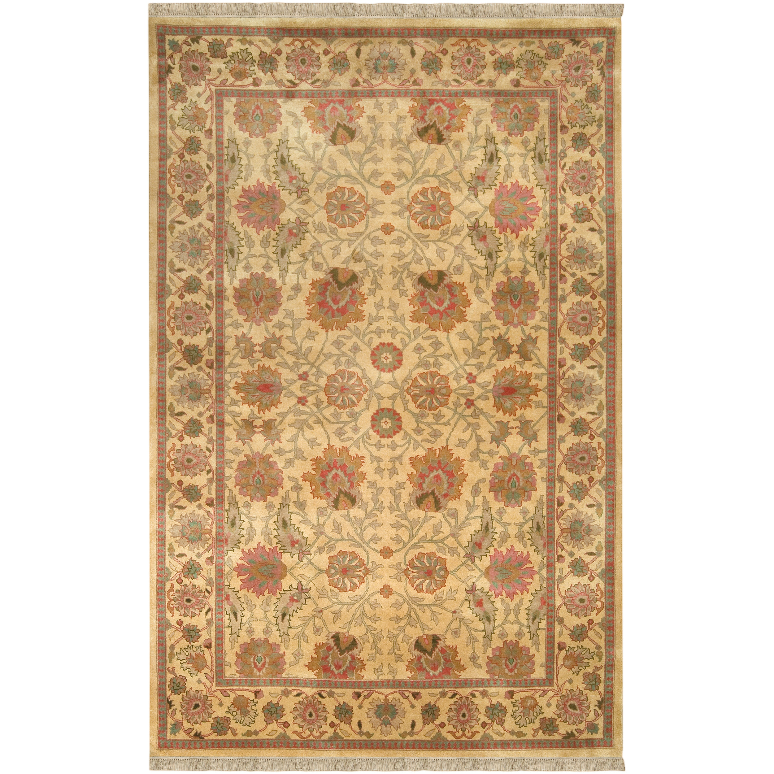 """Hand Knotted Scoresby Semi-Worsted New Zealand Wool Rug (9'6"""" x 13'6"""")"""