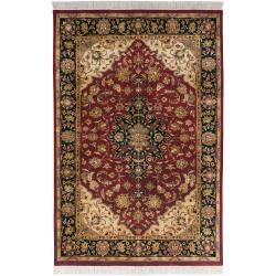 "Hand Knotted Jacinto Semi-Worsted New Zealand Wool Rug (9'6"" x 13'6"")"