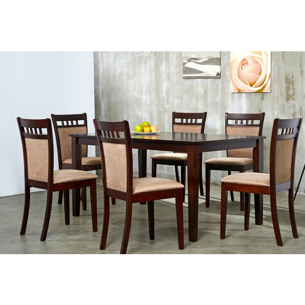 Warehouse Of Tiffany Shirlyn 7 Piece Dining Furniture Set Warehouse Of Tiffany  Dining Sets