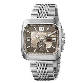 Gucci Men's YA131301 'Coupe' Stainless Steel Watch