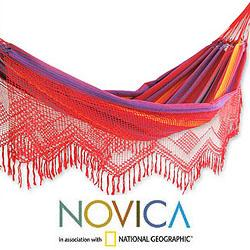 Cotton 'Forro Dance' Hammock (Brazil)