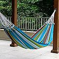 Cotton 'Tropical Day' Hammock (Brazil)