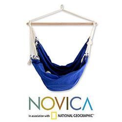 Cotton 'Copacabana' Hammock Swing (Brazil)