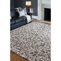 Hand-woven Albie Wool Stone Look Textured Rug (8'X10')