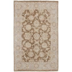 "Hand Knotted Robinson New Zealand Hard Twist Wool Rug (5'6"" x 8'6"")"