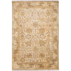 Hand Knotted Cesena  Semi-Worsted New Zealand Wool Rug ( 5'6