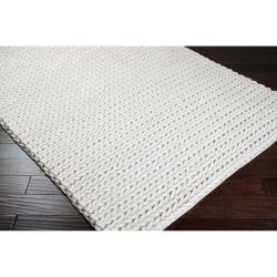 Hand-woven Trento Braided Texture New Zealand Wool Rug ( 5' x 8' )